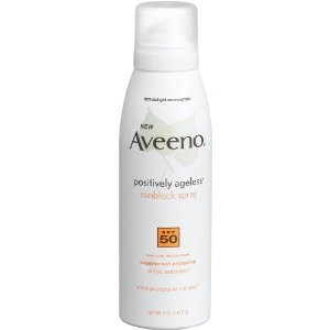 Aveeno Positively Ageless Sunblock Spray SPF 50