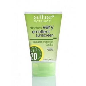 Alba Botanica Facial Sunscreen SPF 20