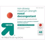 up & up Non-Drowsy Maximum Strength Nasal Decongestant