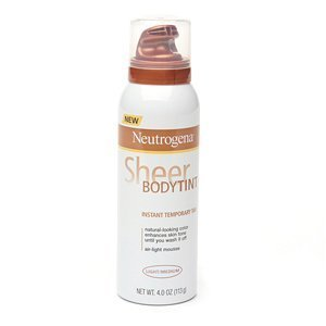 Neutrogena Sheer Body Tint Instant Temporary Tan