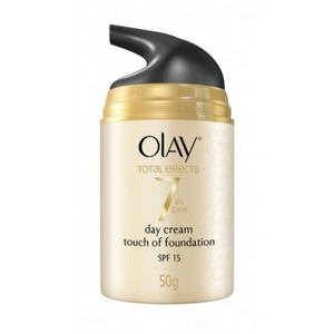Olay Total Effects Moisturizer + Touch of Foundation