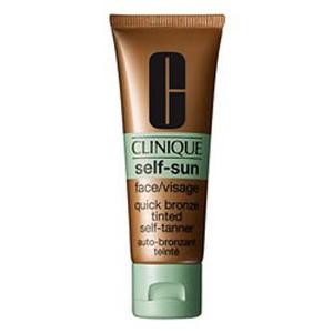 Clinique Face Quick Bronze Tinted Self Tanning Lotion
