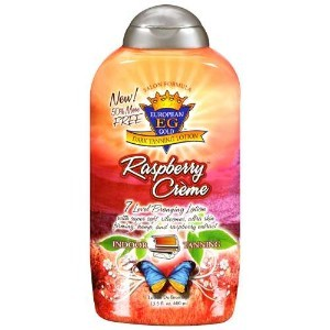 European Gold Raspberry Creme Dark Tanning Lotion