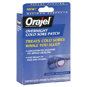 Orajel Overnight Cold Sore Patch