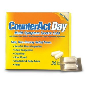 Melaleuca CounterAct Day Multi-Symptom Severe Cold