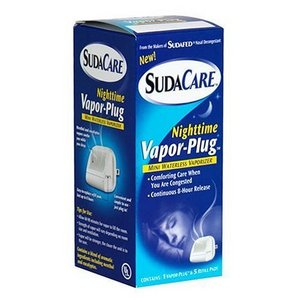 SudaCare Nighttime Vapor-Plug Mini Waterless Vaporizer