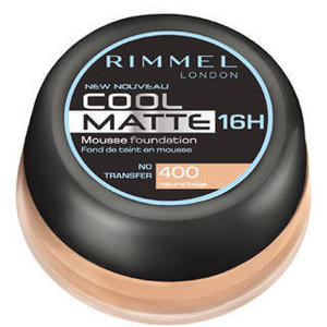 Rimmel London Cool Matte 16 Hour Mousse Foundation