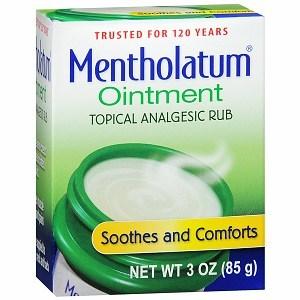 Mentholatum Ointment Topical Analgesic Rub