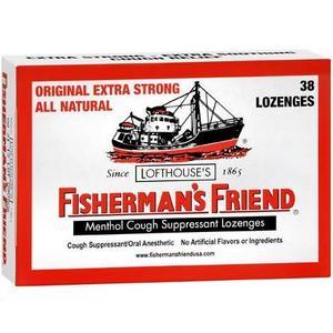 Fisherman's Friend Menthol Cough Suppressant Lozenges