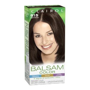 Clairol Balsam Color, Dark Brown #615