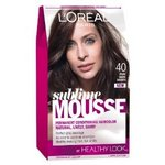 L'Oreal Paris Sublime Mousse Color, Pure Dark Brown #40