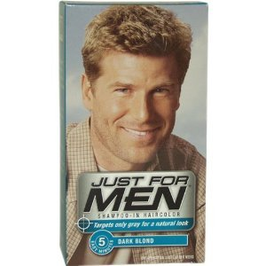 Just For Men Shampoo-In Hair Color, Dark Blond/Lightest Brown H-15