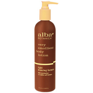 Alba Botanica Very Emollient Body Lotion Light Bronzing Formula