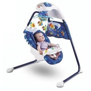 Fisher-Price Ocean Wonders Aquarium Cradle Swing #