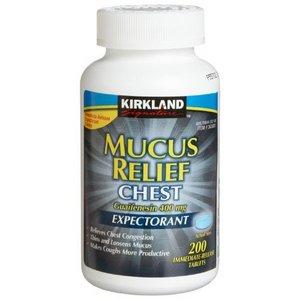 Kirkland Signature Mucus Relief Chest Expectorant Reviews