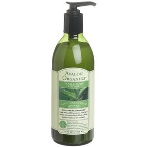 Avalon Organic Botanicals Aloe Unscented Hand & Body Lotion