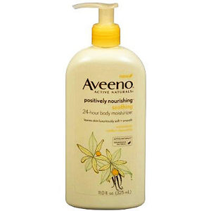 Aveeno Positively Nourishing Soothing Body Lotion