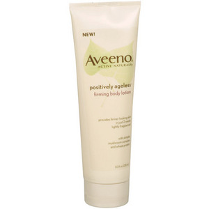 Aveeno POSITVELY AGELESS Firming Body Lotion