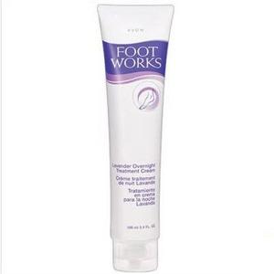 Avon Foot Works Lavender Overnight Treatment Cream
