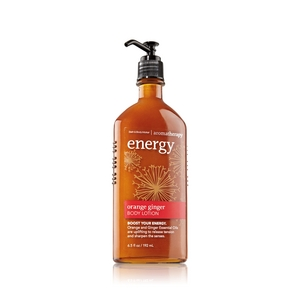 Bath & Body Works Aromatherapy Energy Orange Ginger Body Lotion