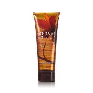 Bath & Body Works Signature Collection Sensual Amber Triple Moisture Body Cream