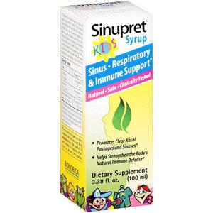 Sinupret Kids Sinus, Respiratory & Immune Support Syrup