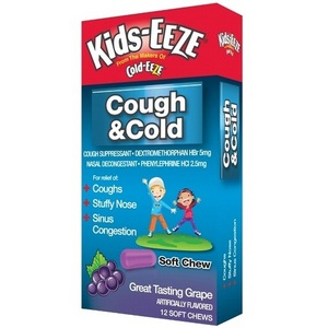 Kids-EEZE Cough & Cold Soft Chew