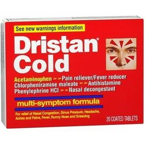 Dristan Multi-Symptom Cold Tablets