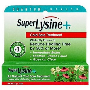Quantum Health Super Lysine Cold Sore Treatment