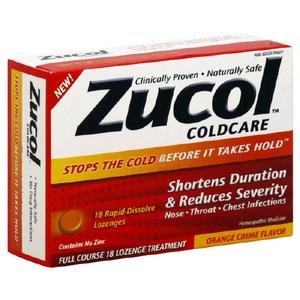 Zucol Coldcare Lozenges