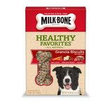 Milk Bone Healthy Favorites Granola Biscuits with Real Beef
