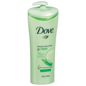 Dove Beauty Body Lotion Go Fresh Cool Moisture 13.5 fl oz