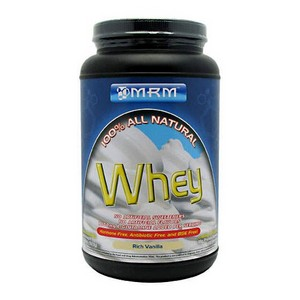 MRM 100% All Natural Whey Protein Rich Vanilla