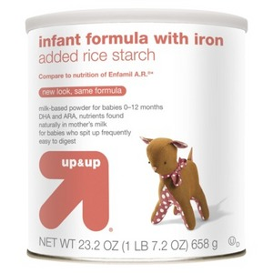 up & up Infant Formula Added Rice