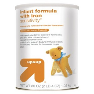 up & up Infant Formula Sensitivity