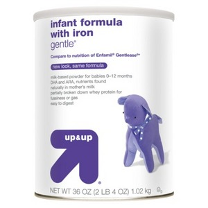 up & up Infant Formula Gentle