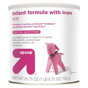 up & up Infant Formula Soy