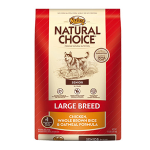 Nutro Natural Choice Senior Large Breed Dog Food