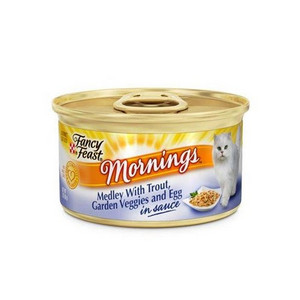 Purina Fancy Feast Mornings Gourmet Cat Food