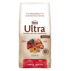 Nutro Natural Choice Ultra Puppy Dry Food 4.5lb Bag