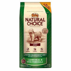 Nutro Natural Choice Adult Lamb Meal & Rice Formula Dry Dog Food