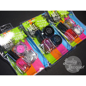 L.A. Colors Nail Dazzling Value Kit - All Shades