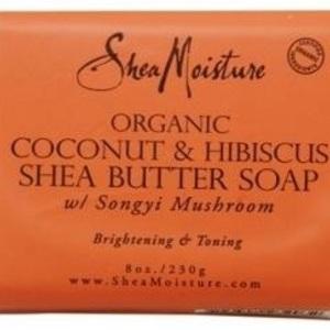 Shea Moisture Organic Coconut & Hibiscus Shea Butter Soap