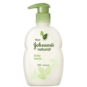 Johnson's Natural Baby Lotion