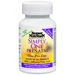 Super Nutrition SimplyOne Prenatal Multi-Vitamin