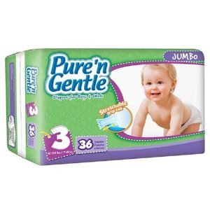 Pure 'n Gentle Diapers