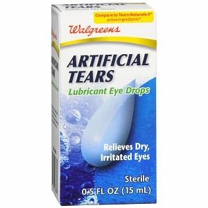 Walgreens Artificial Tears Lubricant Eye Drops