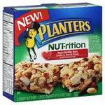 Planters - Nutrition Hearth Healthy Cranberry Almond Peanut Snack Bar