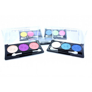 L.A. Colors 3 Color Eyeshadow - All Shades