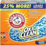 Arm & Hammer Plus OxiClean Powder Laundry Detergent